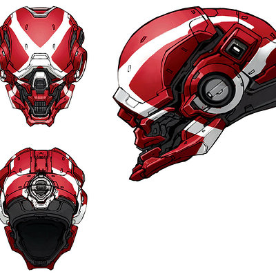 Kory hubbell halo4 locus helmet skin