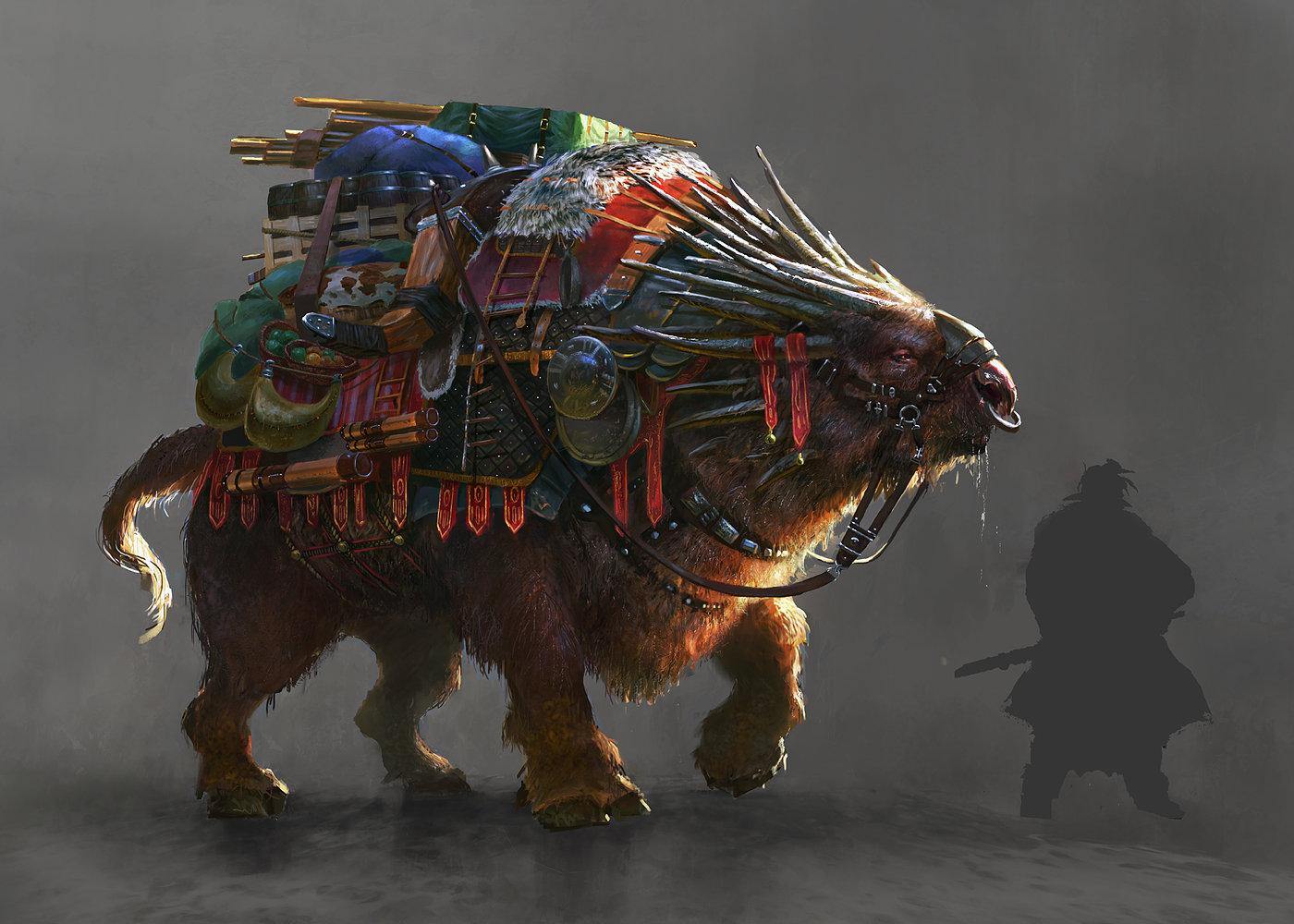 Grosnez - dragooooon Grosnez-illustrateur-monture-3