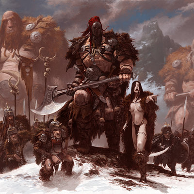 Adrian smith artbook cover colour stage2