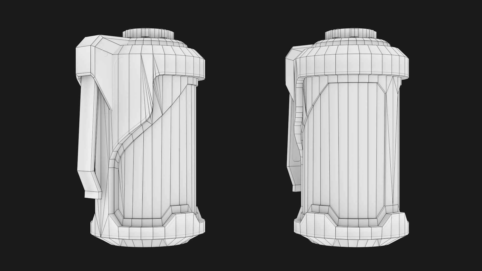 Low-Poly 3D-model grenades in sci-fi style is made in five ...: https://flex.artstation.com/portfolio/sci-fi-grenade-4731b4ec-1f36...
