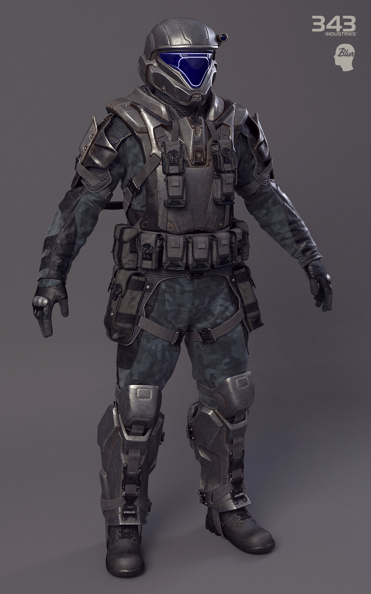 Re Equip A Unsc Marine With New Armor Spacebattles Forums