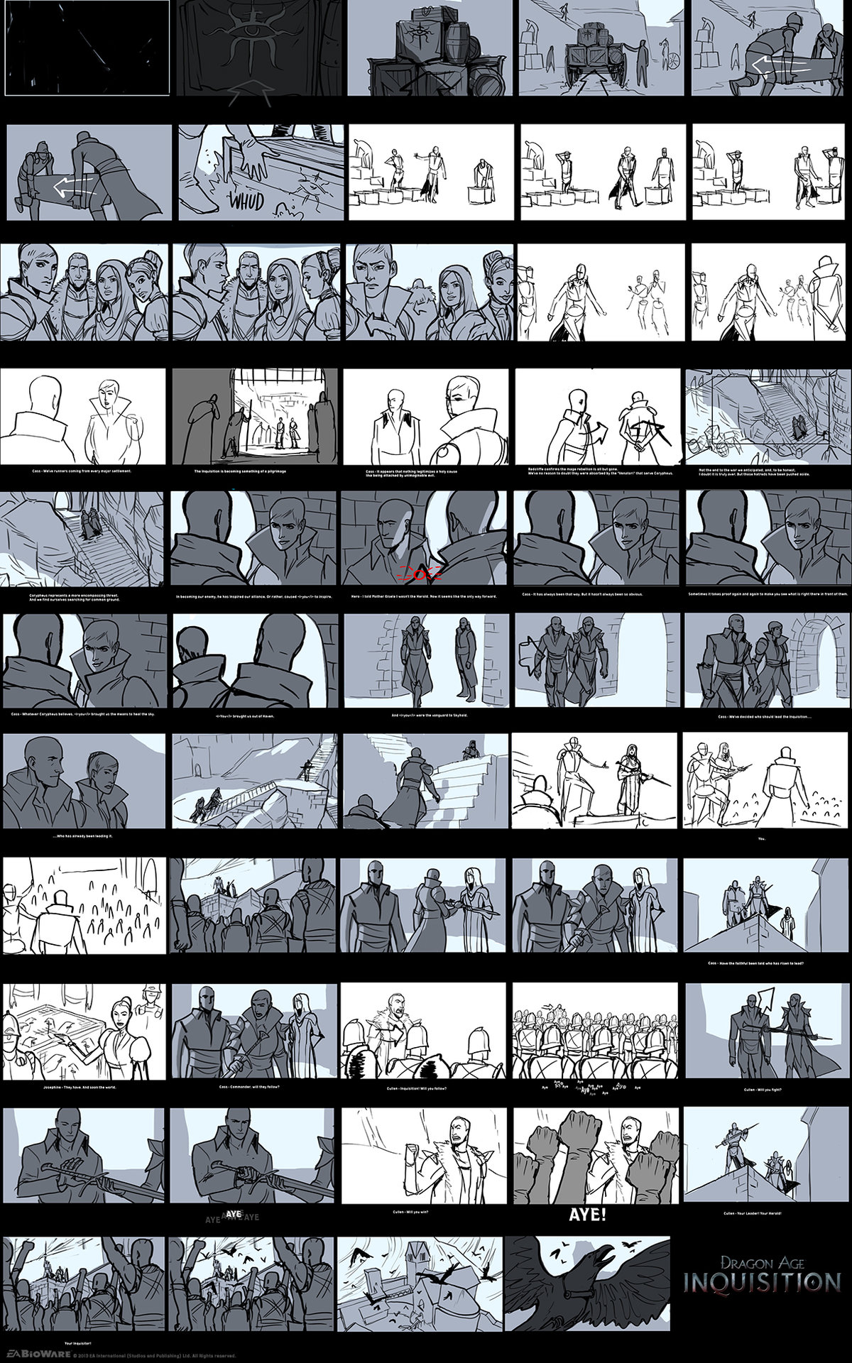 Matt rhodes storyboard coronation