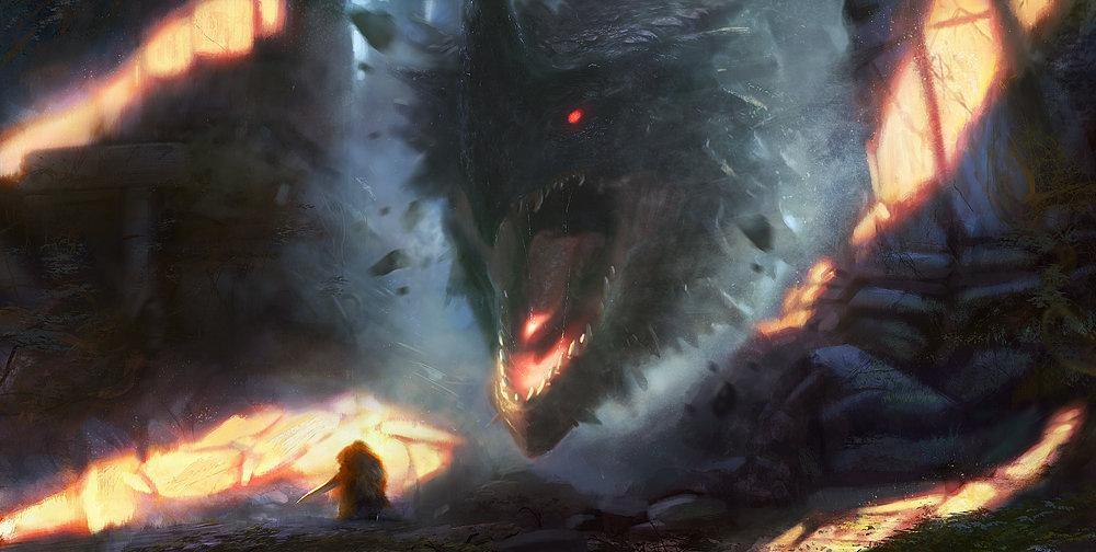Grosnez - dragooooon Grosnez-illustrateur-dragon2