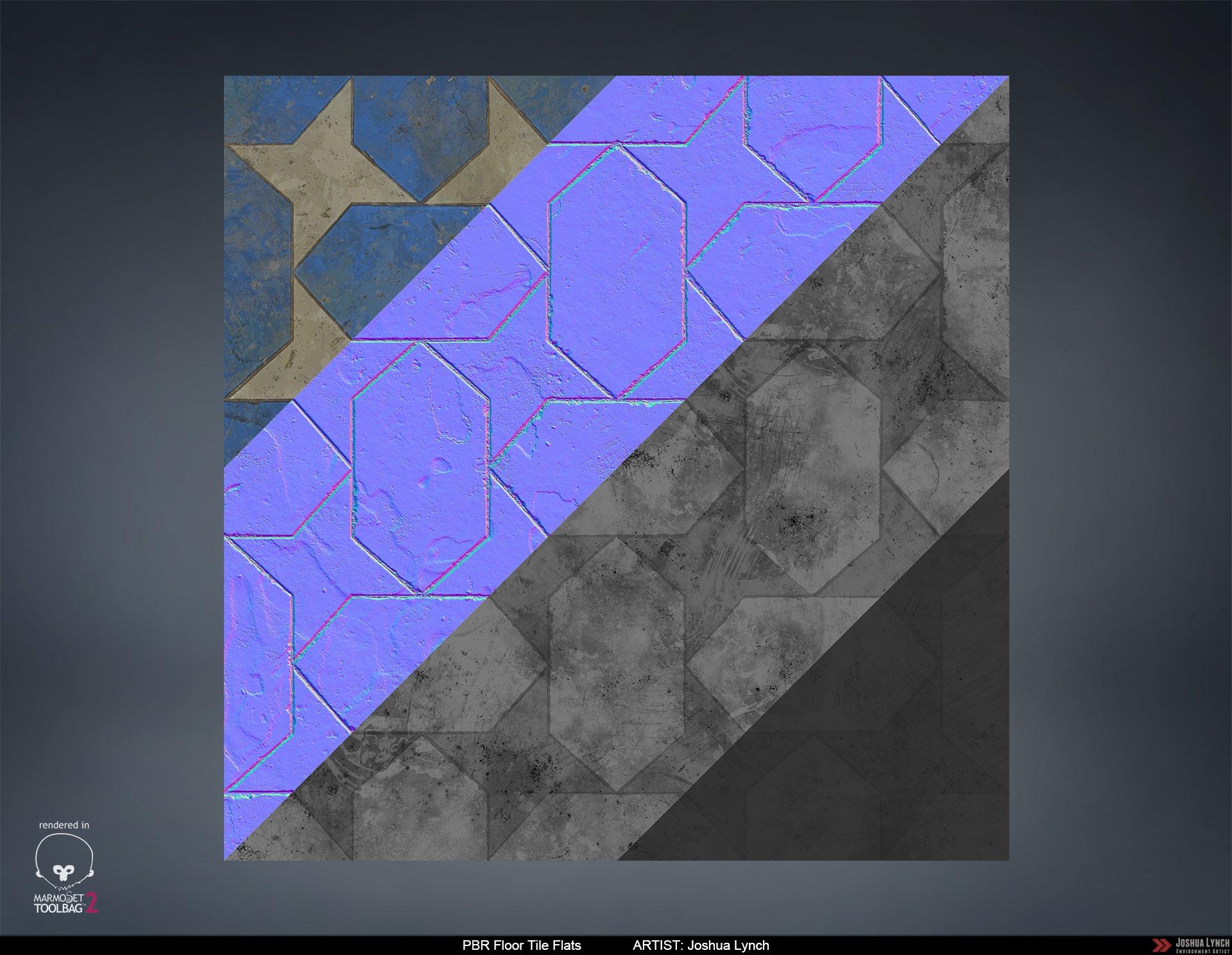 Joshua lynch floor stone tile flats layout comp josh lynch