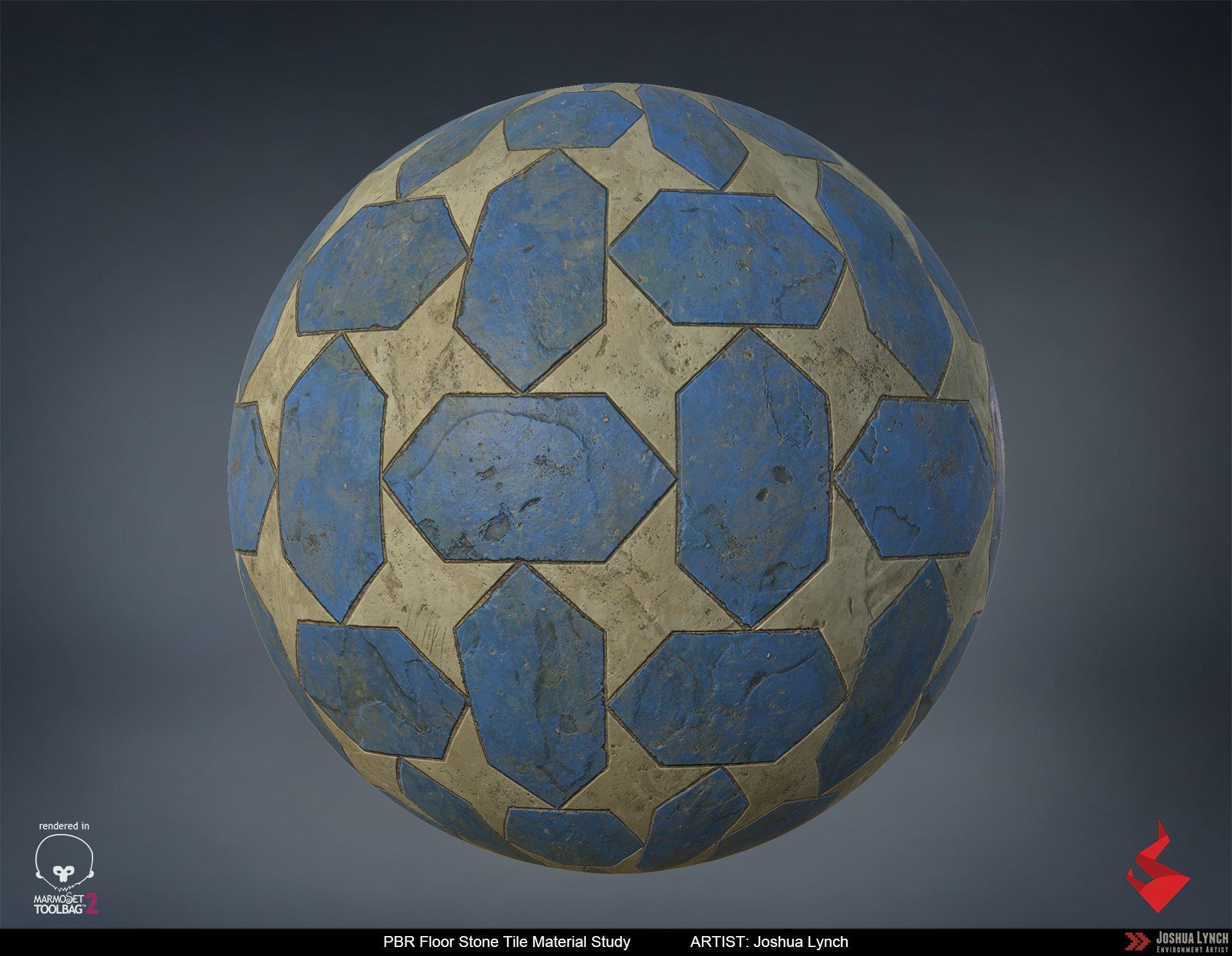 Joshua lynch floor stone tile sphere layout comp josh lynch