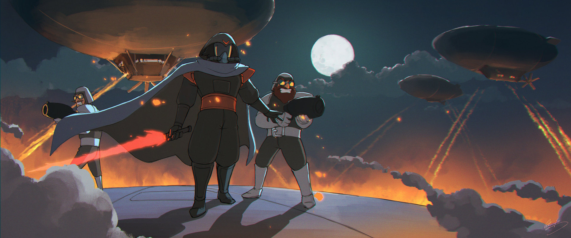 Star Wars Reimagined - Darth Ghibli's Entrance