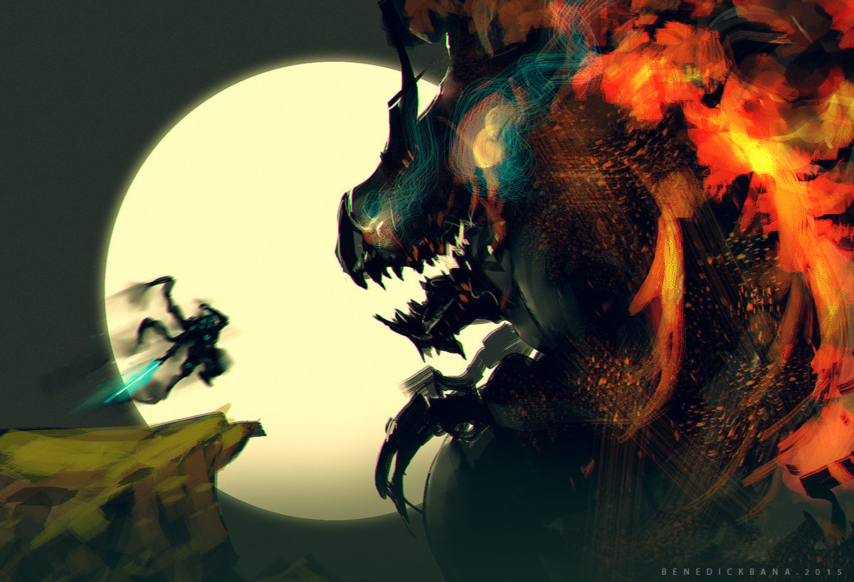 Benedick bana final boss2 lores