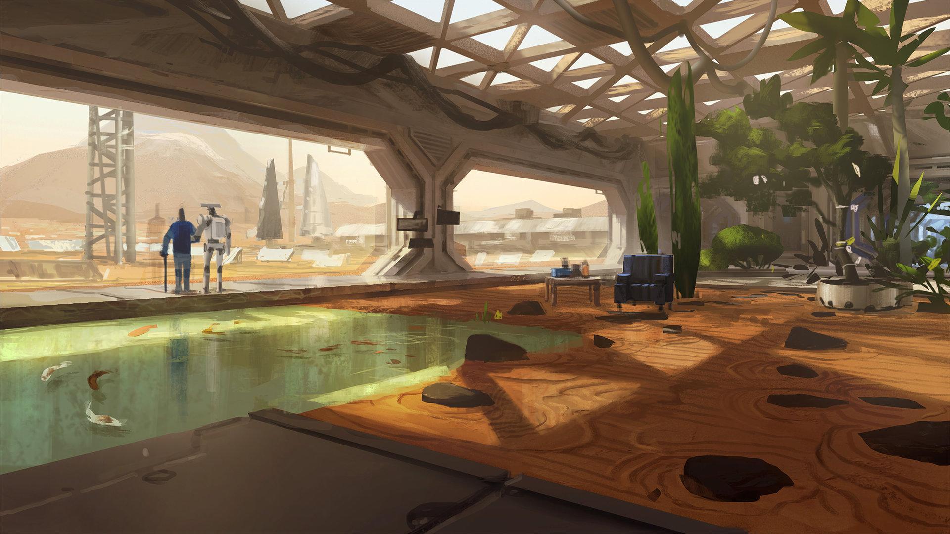 Mars Zen Garden