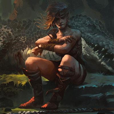 Raph lomotan huntress2