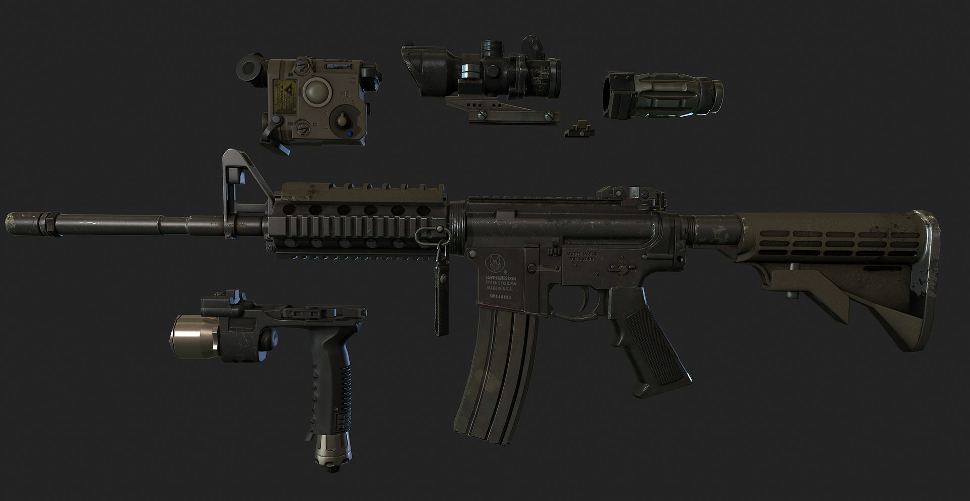 Ui joo moon new m4a1 01