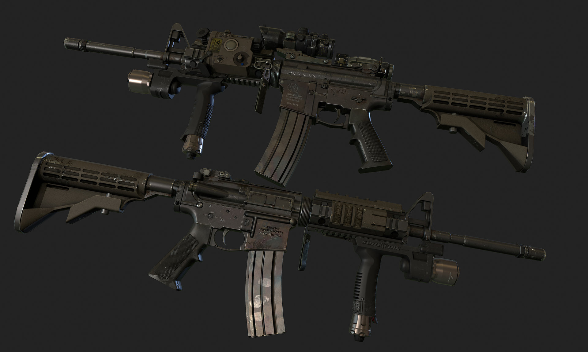 Ui joo moon new m4a1 00