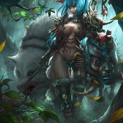 Zeen chin mi the forest hunter