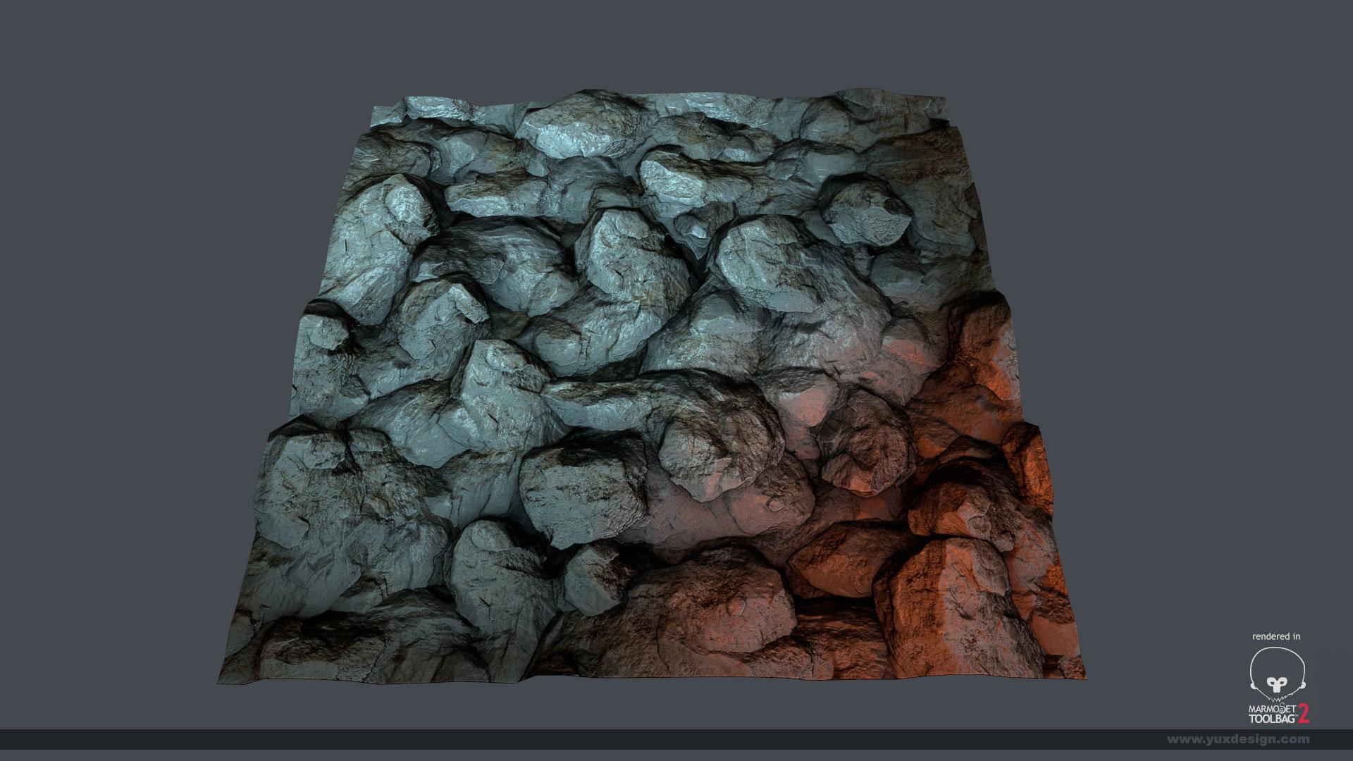 Yuxdesign jesus garcia texturetileablerock