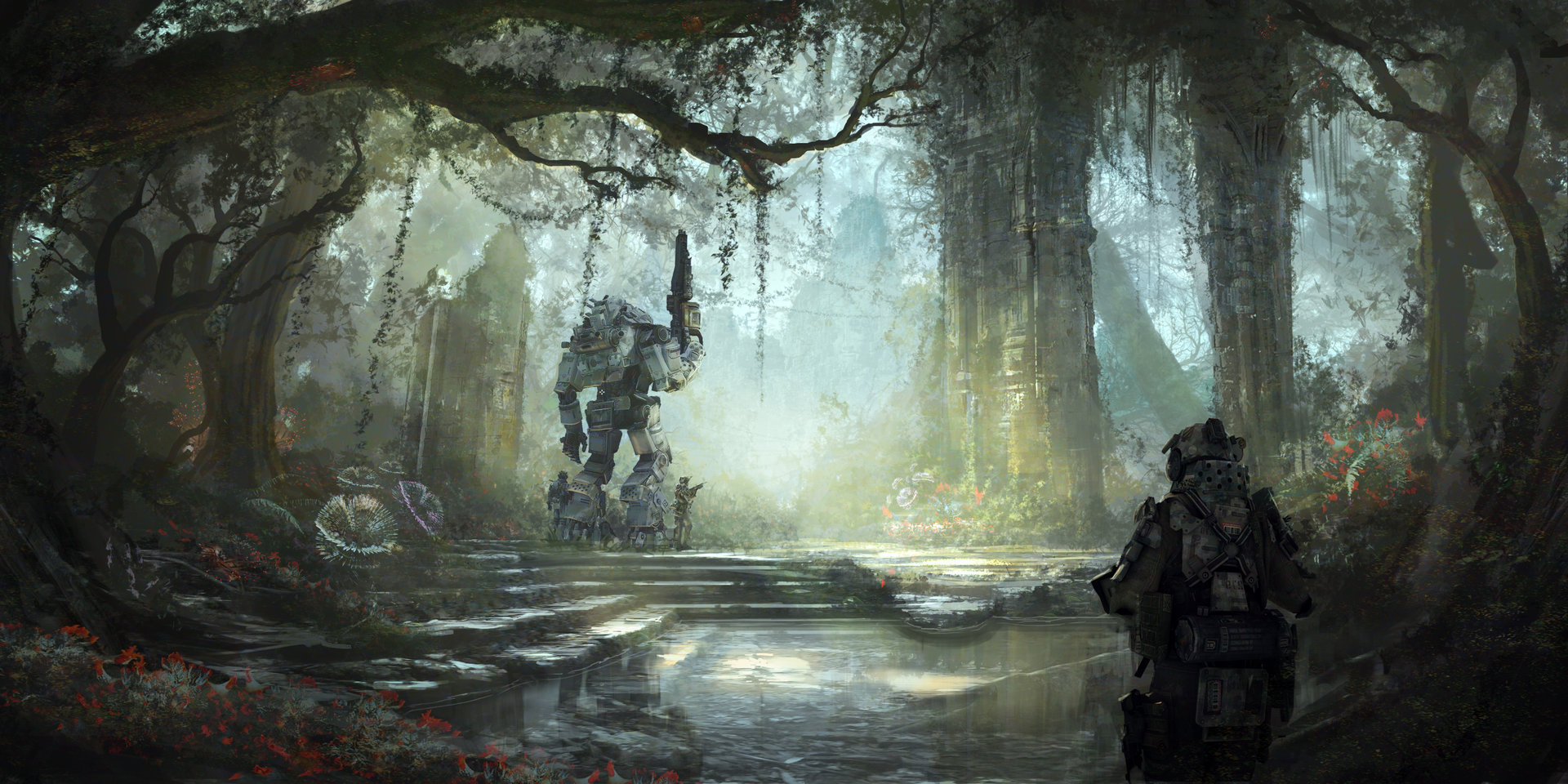 Tu bui swamp day temple