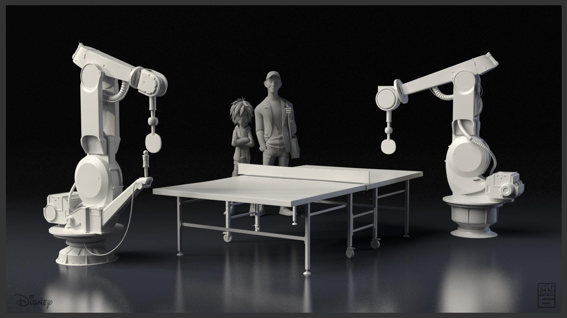 Ping Pong Robots