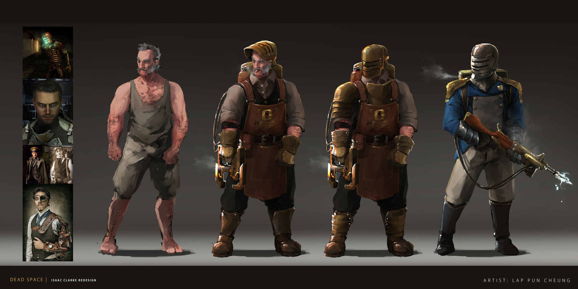 Lap pun cheung dead space isaac clarke redesign 01