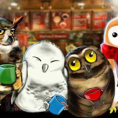 Nick minor coffee owls