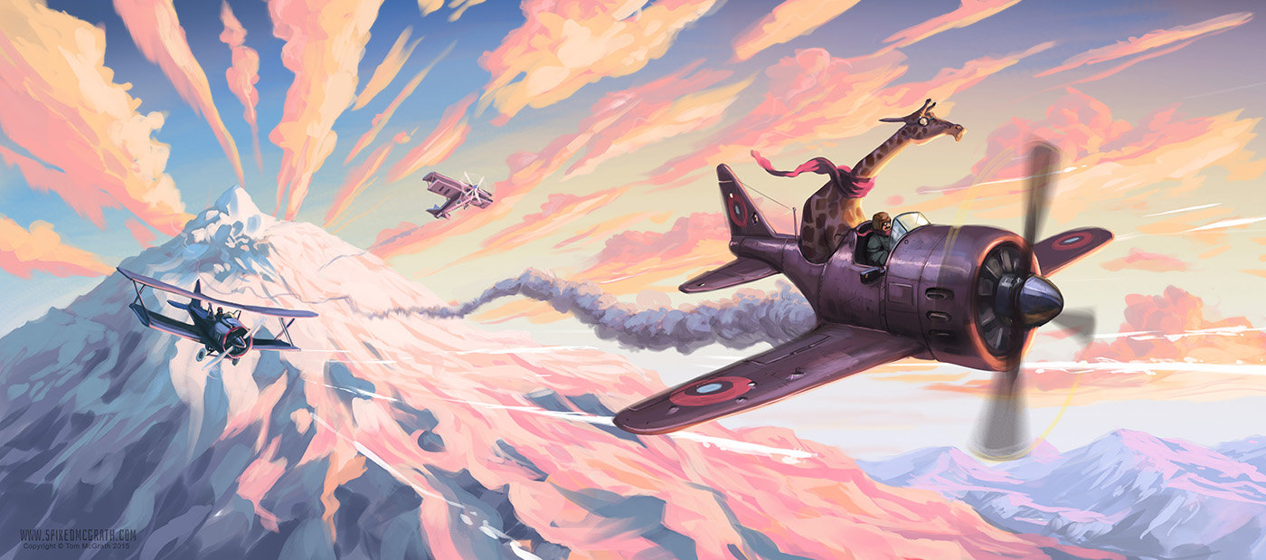 Tom mcgrath purple mountain