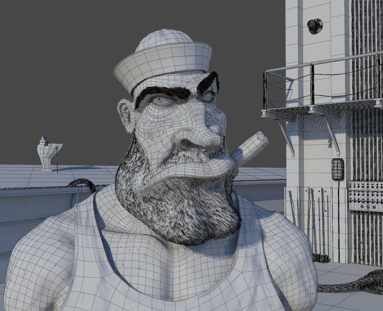 Ricardo manso marinheiro wireframe