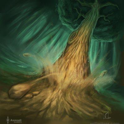 William pitzer the stubborn tree