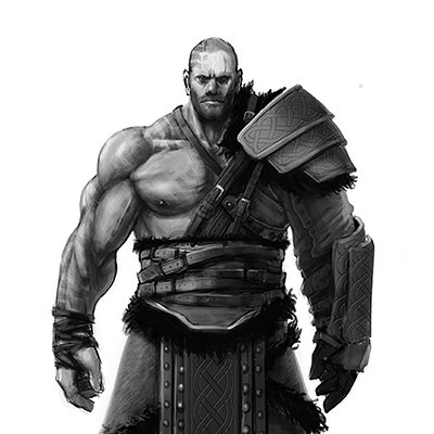 Matthew harris barbarian concept
