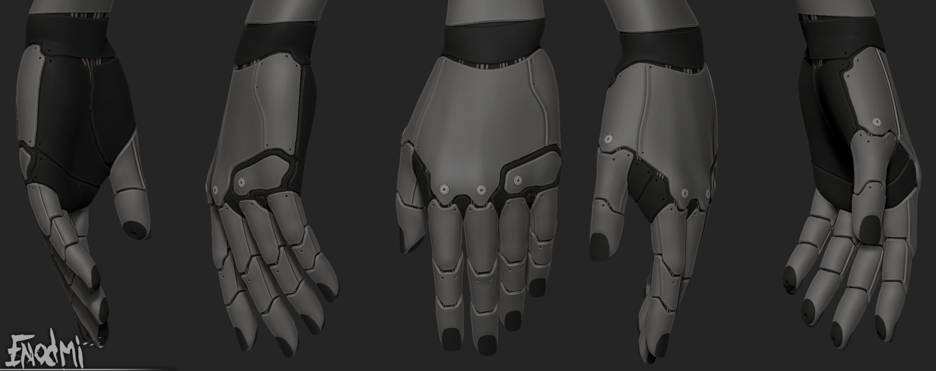 Forest telford hands wip