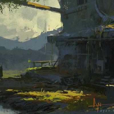 Ayan nag abandoned villa by ayan nag