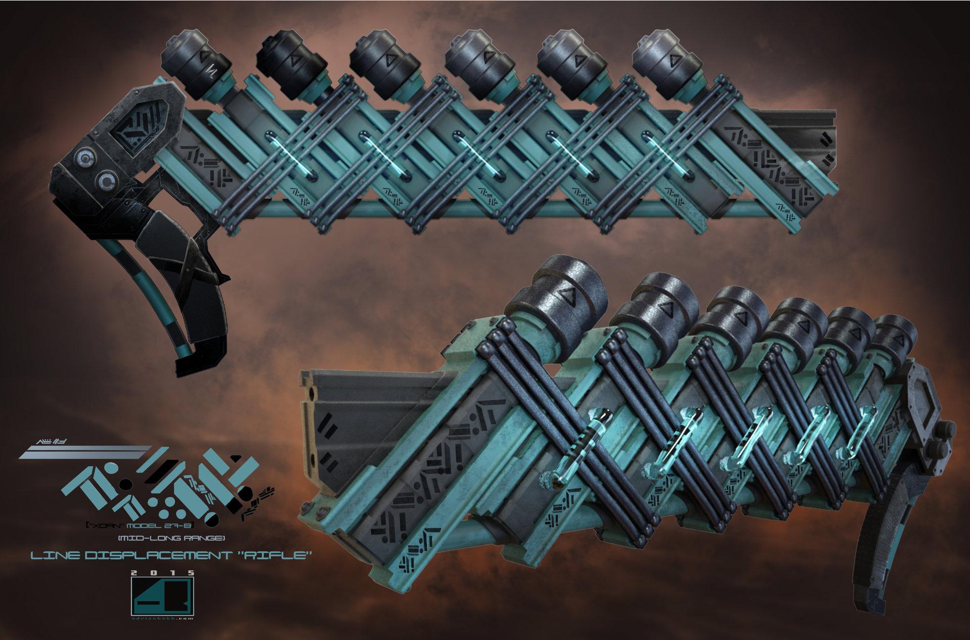 Alien Rifle Design