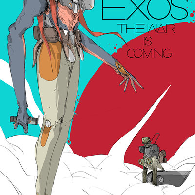 Thomas istepanyan exos the war is coming illustration