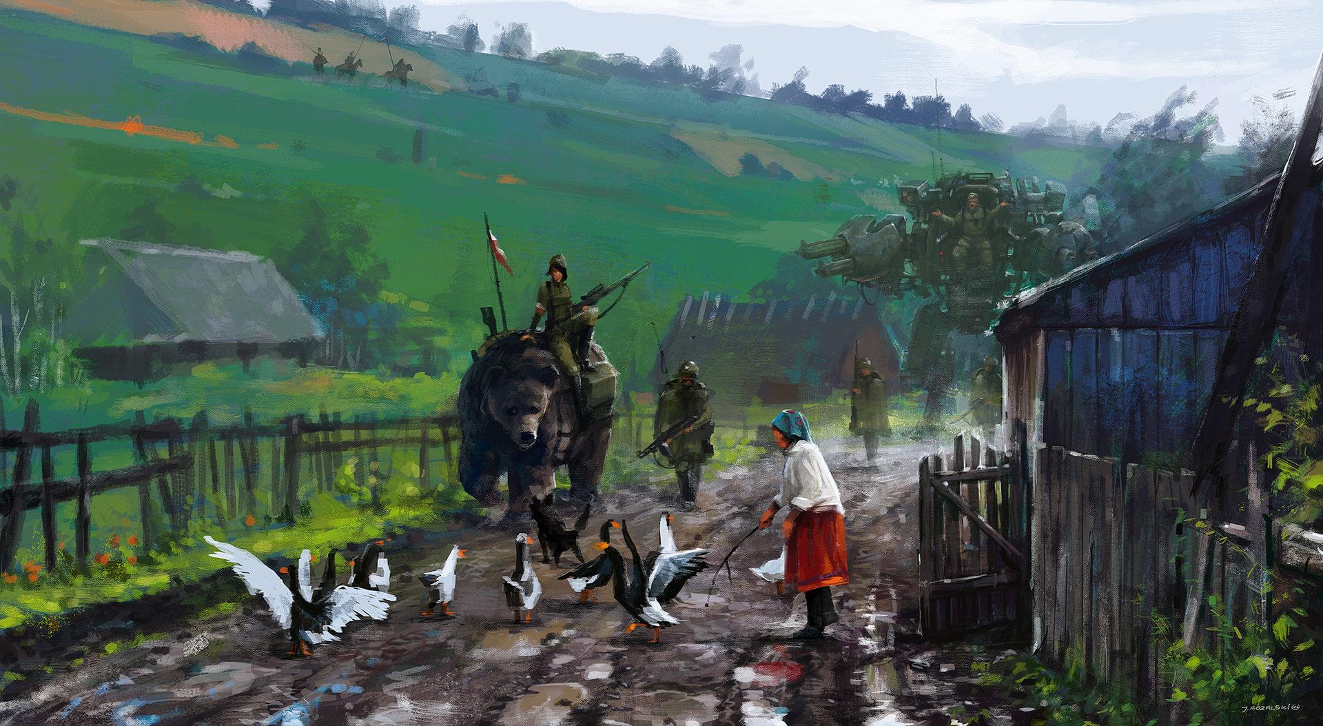 Art By Jakub Rozalski Coh2 Org