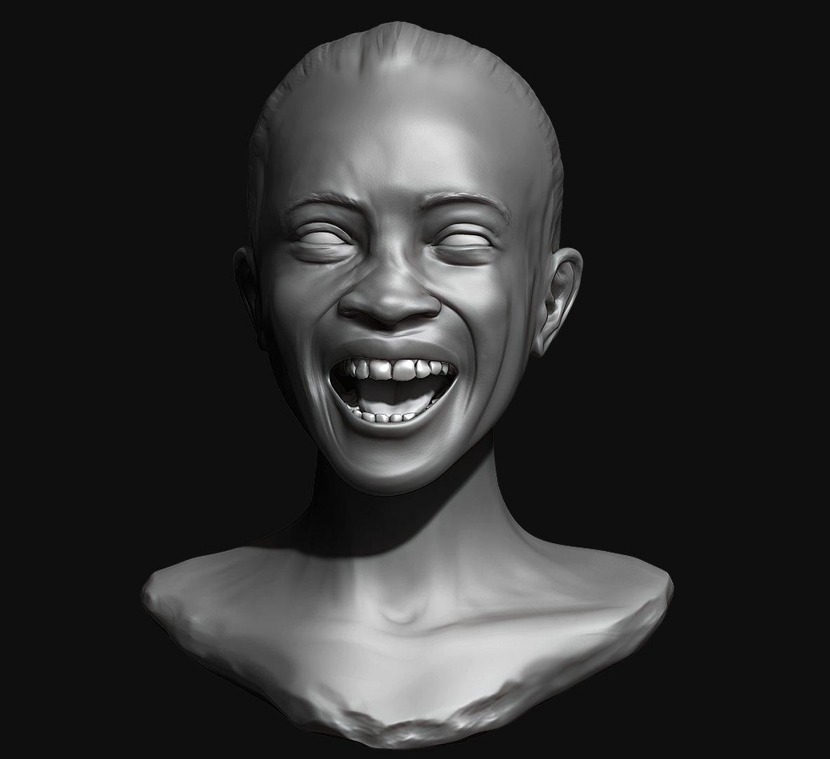 Carlos ahumada sketch laughing