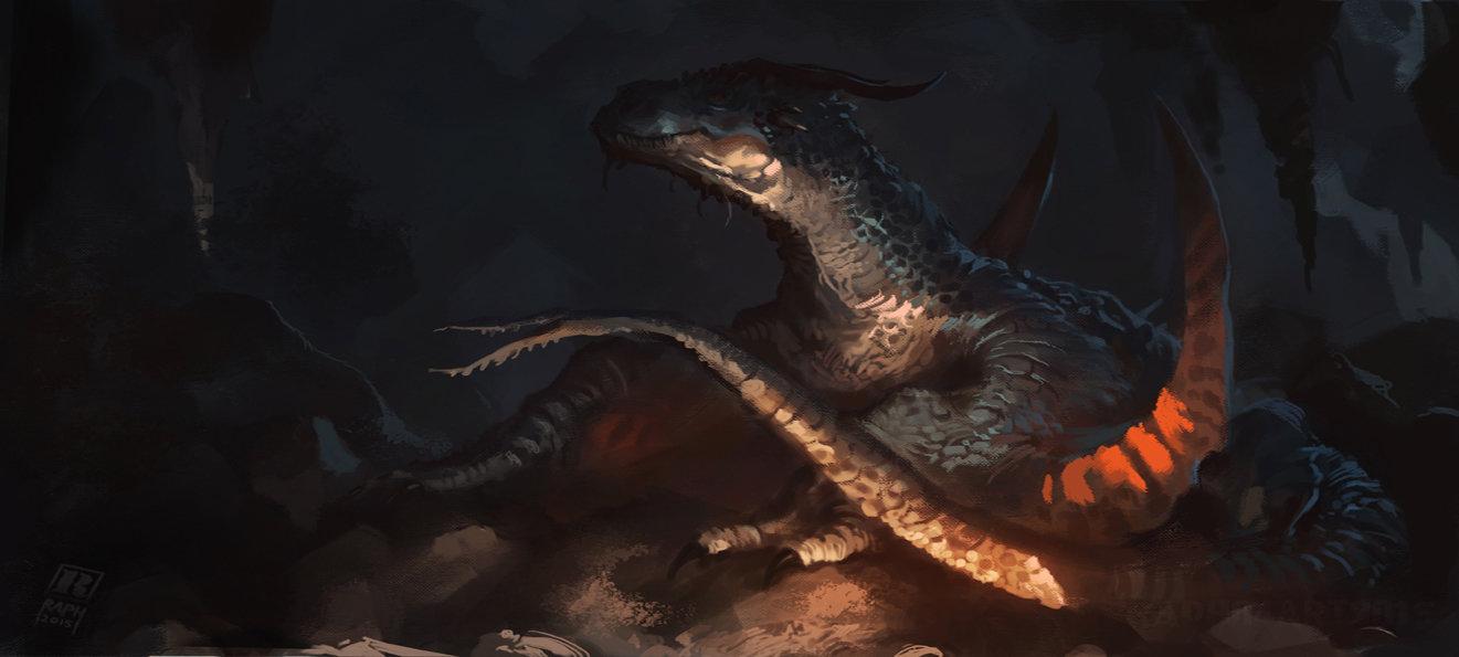 Raph lomotan dragon
