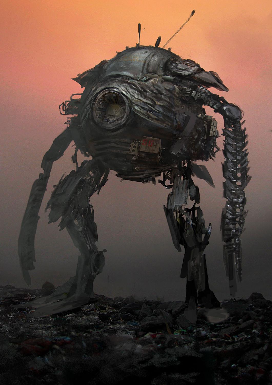Andrei riabovitchev vampire hunter robot v002 ar