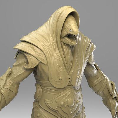Chris bennett chrisbennett nagagoboro sculpt