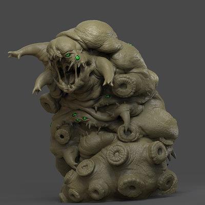 Chris bennett chrisbennett caterpillar sculpt
