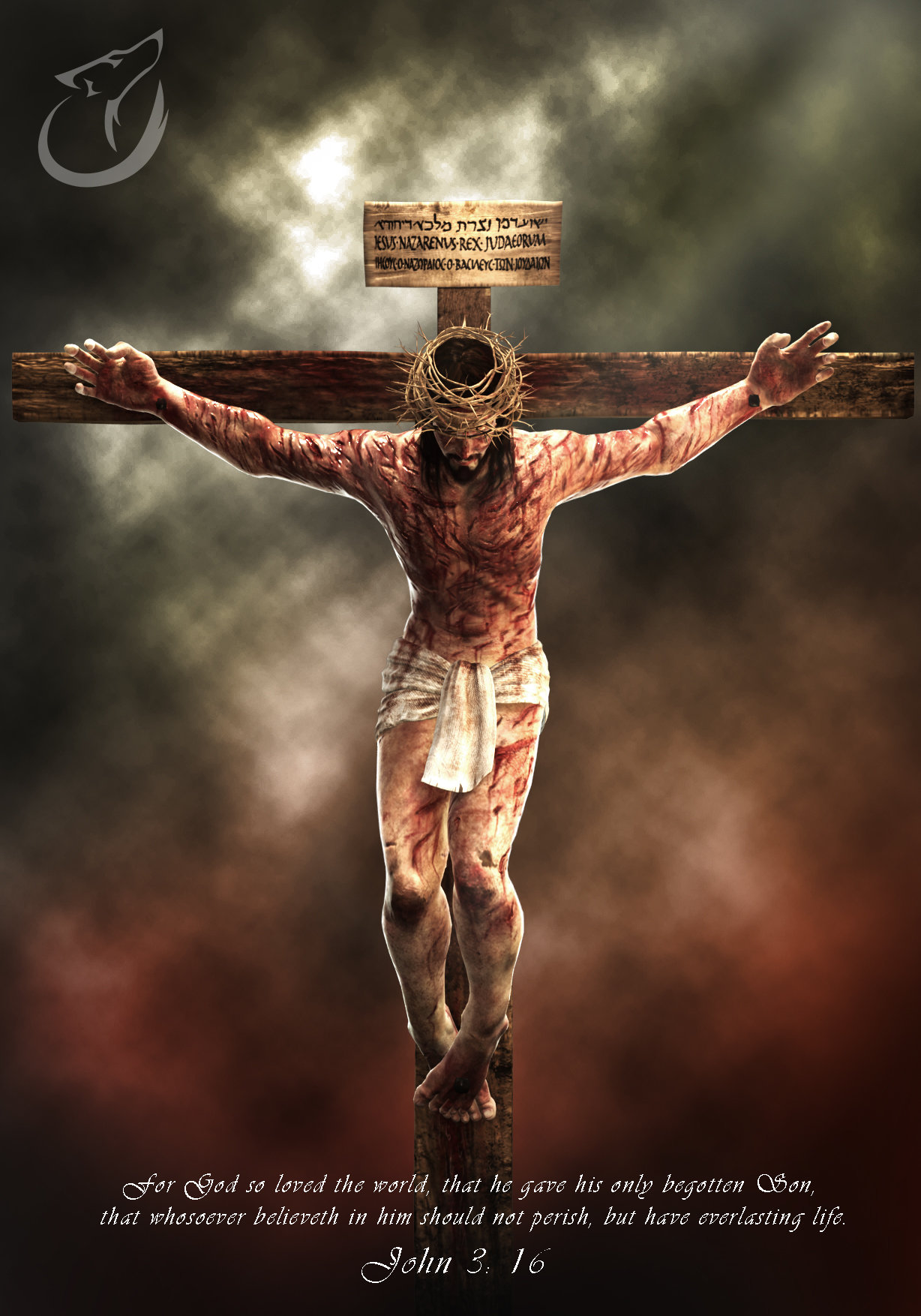 Andrew constantine jesus crucifixion by binusianwolf d8o7kex