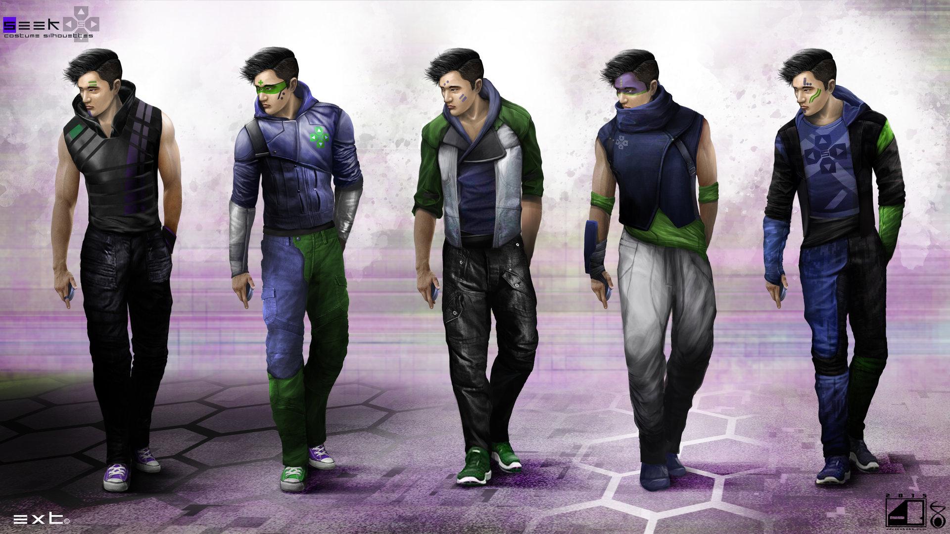 Seek Costume Concepts