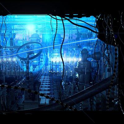 Marc mons blue machine city by marcmons007 d576i63