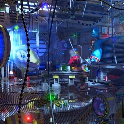 Marc mons alien room by marcmons007 d56o8h4