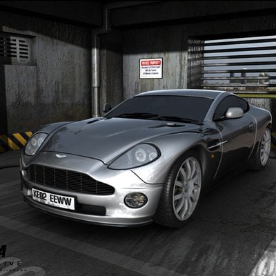 Marc mons aston martin vanquish parquing 007 in mi6 by marcmons007 d56o7xw