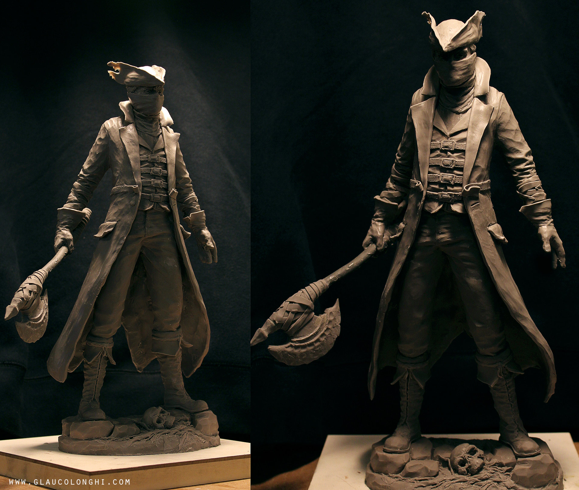 A Character Artist at Naughty Dog sculpted the Bloodborne ...