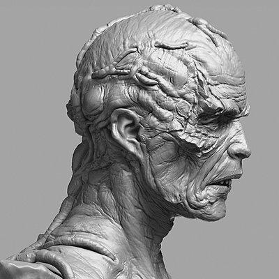 Jesse sandifer zombie head 081014