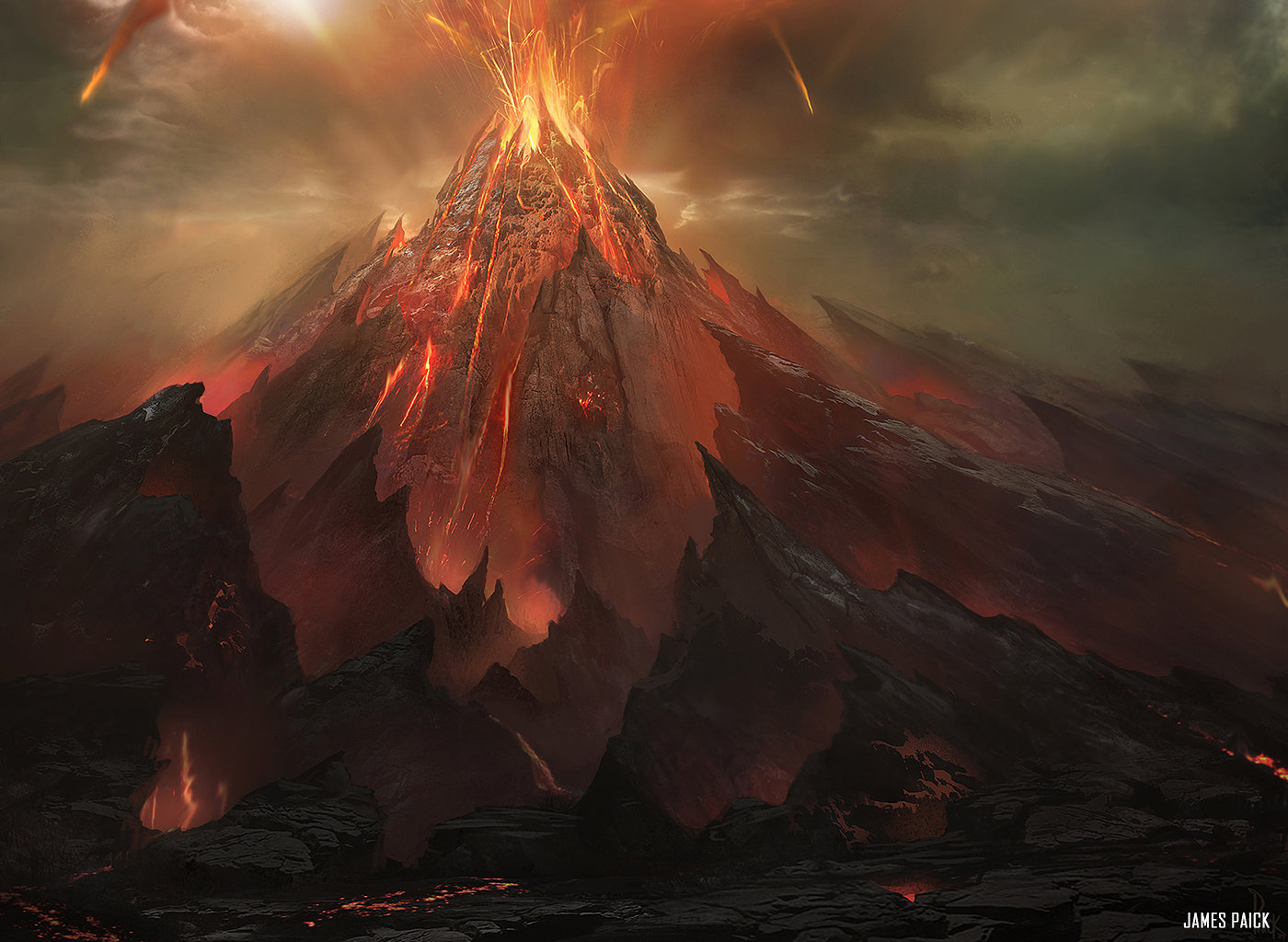 Image result for valakut the molten pinnacle