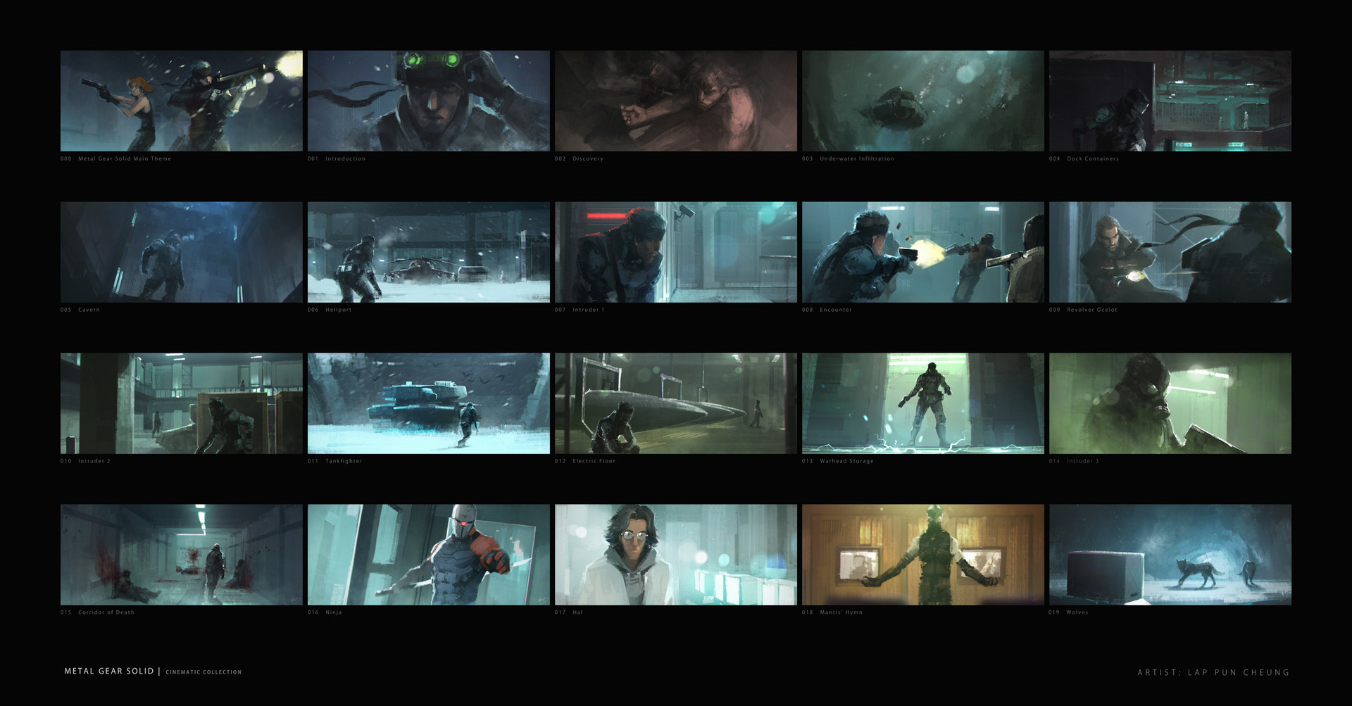Lap pun cheung metal gear solid collection 001 online