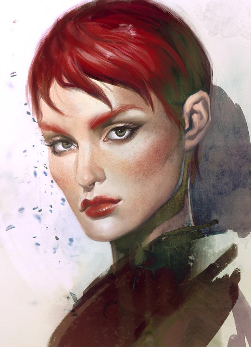 Crystal Redhead 69
