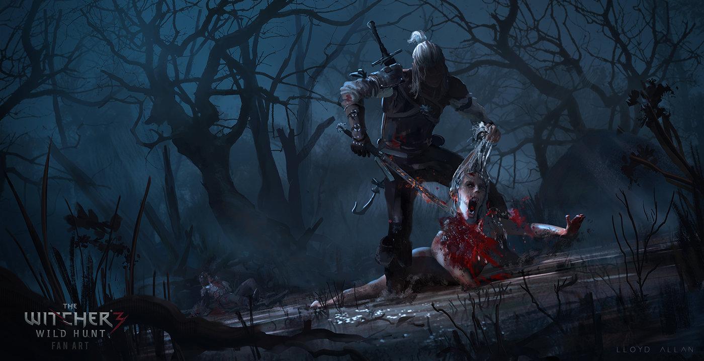 Killing Monsters! By Lloyd Allan (x