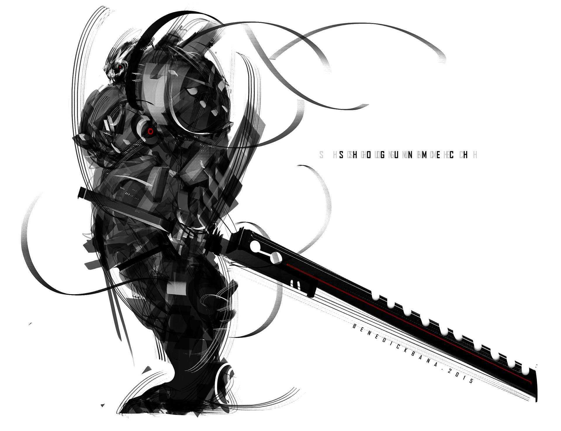 Benedick bana mech shogun2