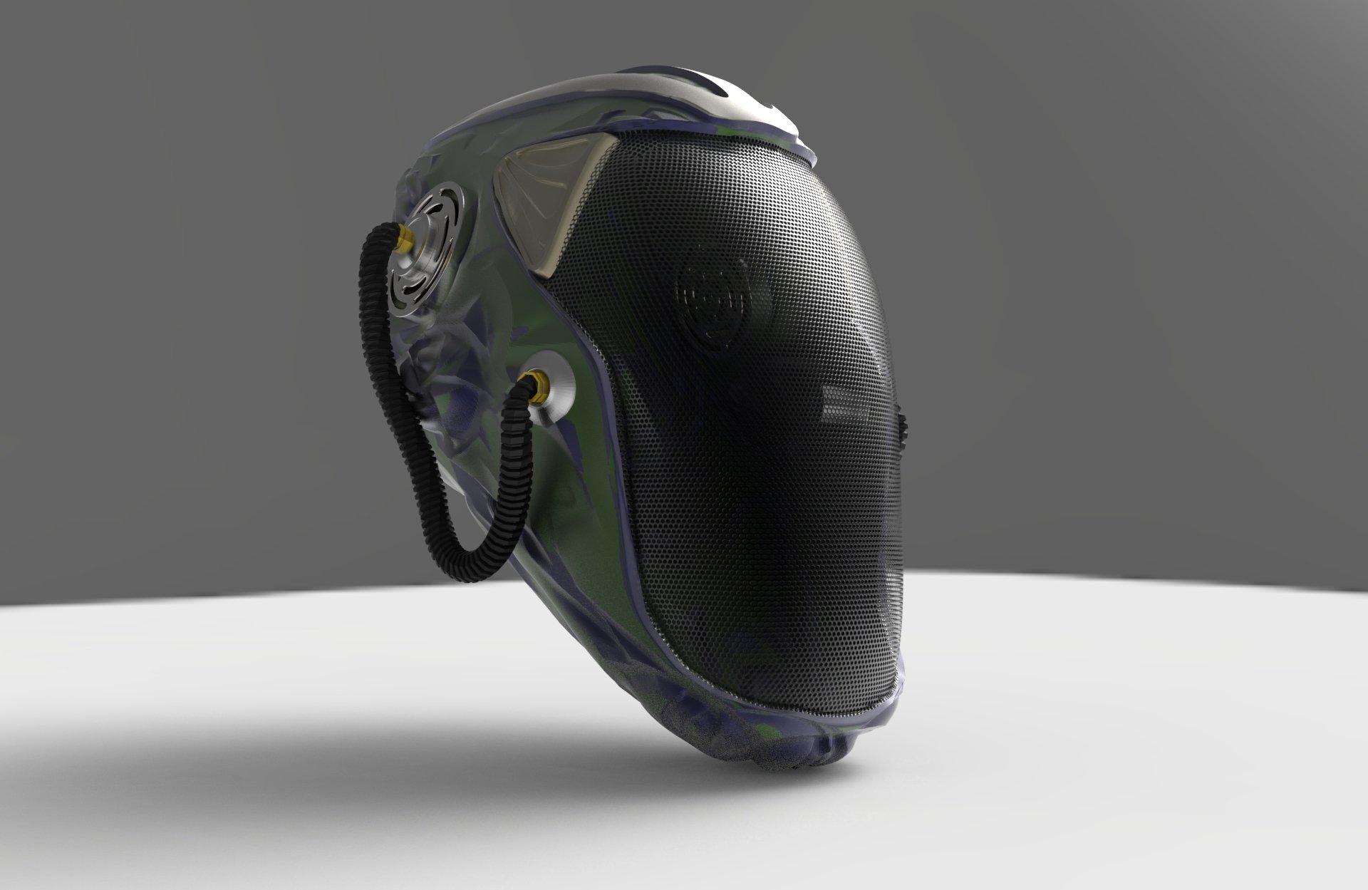 Futuristic Concepts Futuristic Concept Helmet