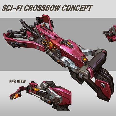 Rock d scifi crossbow
