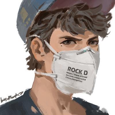 Rock d self portrait